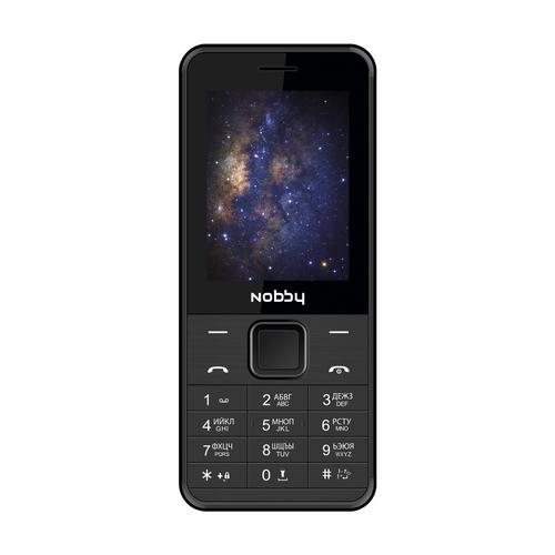 Телефон Nobby 200 черный (NBP-BP-24-01)