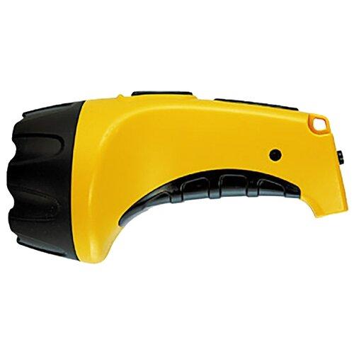 Ручной фонарь Яркий Луч LA-07 желтый/черный