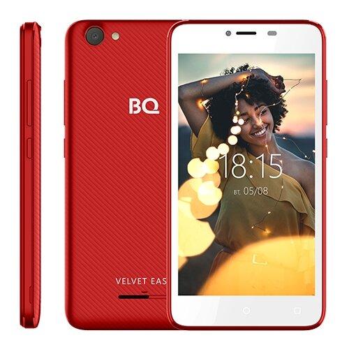 Смартфон BQ 5000G Velvet Easy красный смартфон