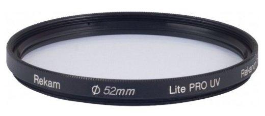 Светофильтр ультрафиолетовый Rekam Lite Pro UV 52 мм