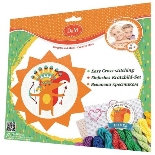 Купить D&M Набор для вышивания крестиком Лиса (60747), Наборы для вышивания