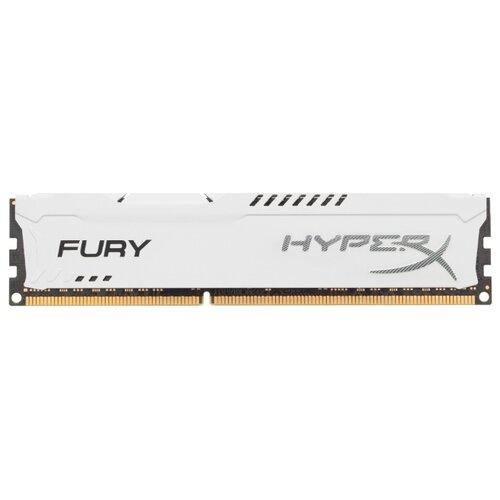 Фото - Оперативная память HyperX Fury DDR3 1600 (PC 12800) DIMM 240 pin, 8 GB 1 шт. 1.5 В, CL 10, HX316C10FW/8 оперативная память corsair xms ddr3 1600 pc 12800 dimm 240 pin 8 гб 1 шт 1 5 в cl 11 cmx8gx3m1a1600c11