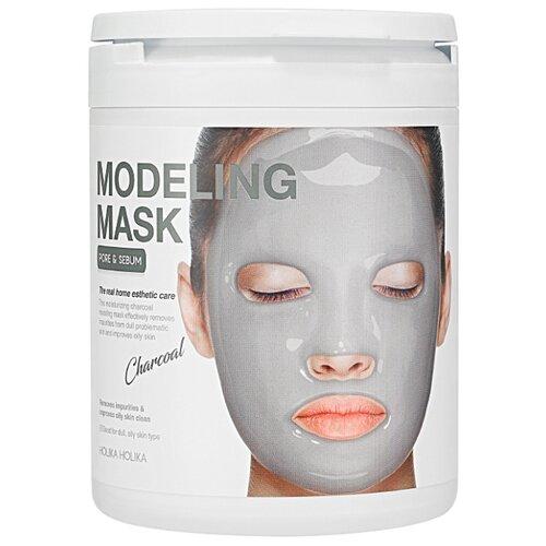 Holika Holika альгинатная маска Modeling Mask с углем, 200 г goodal refine modeling mask купить в москве