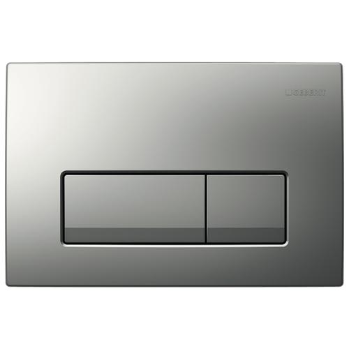 Кнопка смыва GEBERIT 115.105.46.1 Delta 51 матовый хром фото