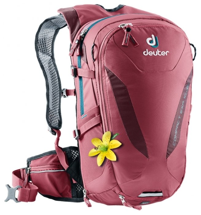 Рюкзак Deuter Compact EXP SL 10 red (cardinal/maron)