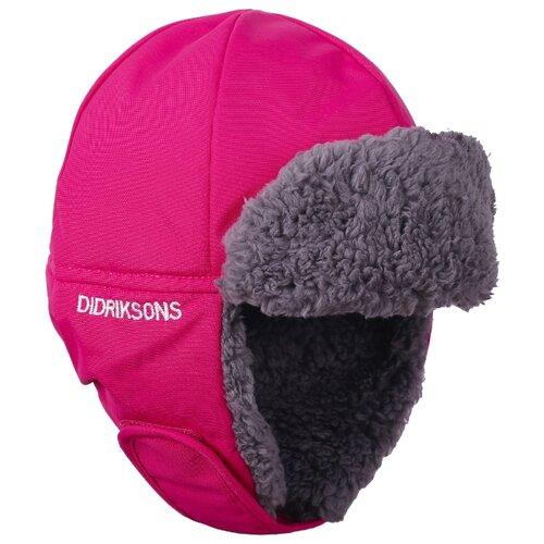 Купить Шапка-ушанка Didriksons размер 54, розовый, Головные уборы