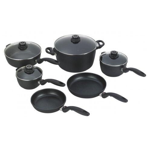 Набор посуды Swiss Diamond XD SET6010 10 пр. черный набор посуды swiss diamond premium steel sd ps set l3