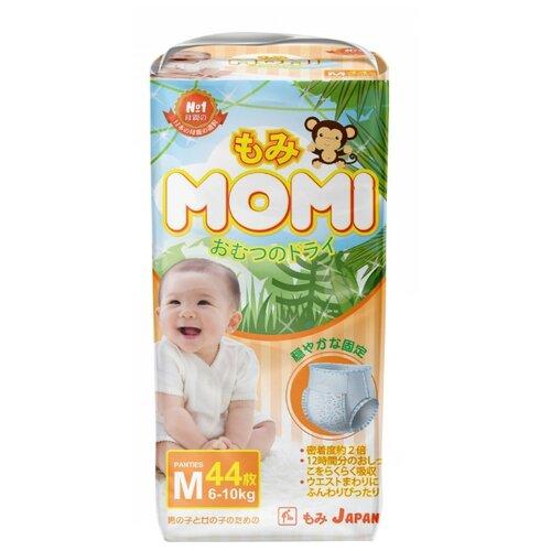 Momi трусики M (6-10 кг) 44 шт. momi трусики m 6 10 кг 44 шт