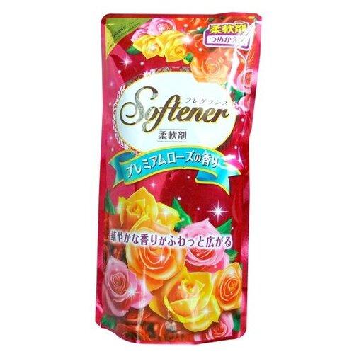 Фото - Nihon Detergent Кондиционер-ополаскиватель для белья с богатым ароматом роз, 0.5 л кондиционер для белья nihon softener premium rose 500 мл
