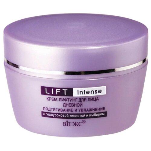 Купить Витэкс Lift Intense Крем-лифтинг дневной для лица подтягивание и увлажнение с гиалуроновой кислотой и имбирем, 45 мл