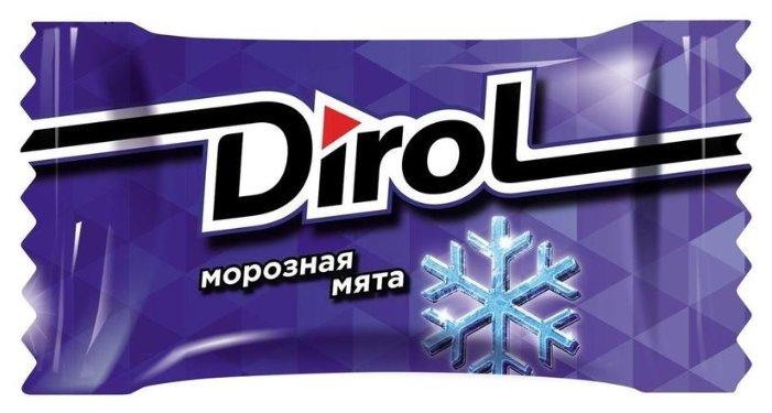 Жевательная резинка Dirol морозная мята 100 шт*2,72 г, 100 шт.