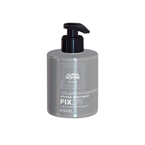Estel Professional Alpha Homme гель для укладки волос (легкая фиксация) 275 мл натура сиберика облепиха гель для укладки волос естественная фиксация 200 мл