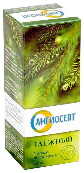 Ангиосепт таёжный готовое полоскание для полости рта фл. 200мл