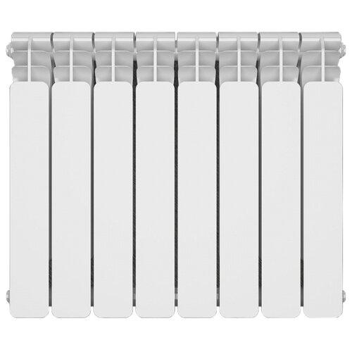 Купить со скидкой Радиатор секционный биметаллический Sira Alice Bimetallico 500 x4 500/95 , теплоотдача 456 Вт 4 секц