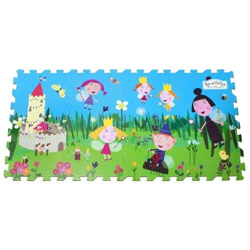 Купить Коврик-пазл РОСМЭН Ben & Holly s Маленькое королевство Бена и Холли (31031), Игровые коврики
