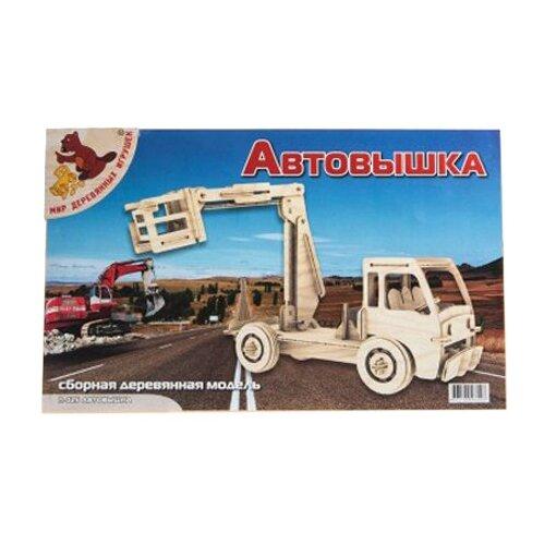 сборная модель мир деревянных игрушек ракетная установка п052 Сборная модель Мир деревянных игрушек Автовышка (П025)