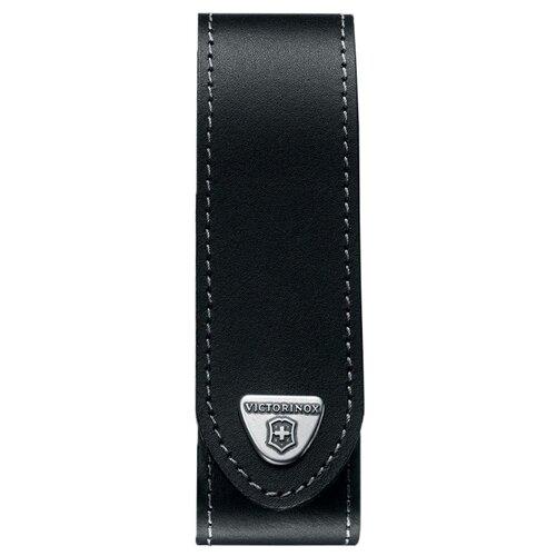 Чехол для ножей Ranger grip 130 мм до 3 уровней кожаный VICTORINOX черный чехол victorinox для ножей 91 мм 5 8 уровней с отд для фонаря и точильного камня кожаный чёрный
