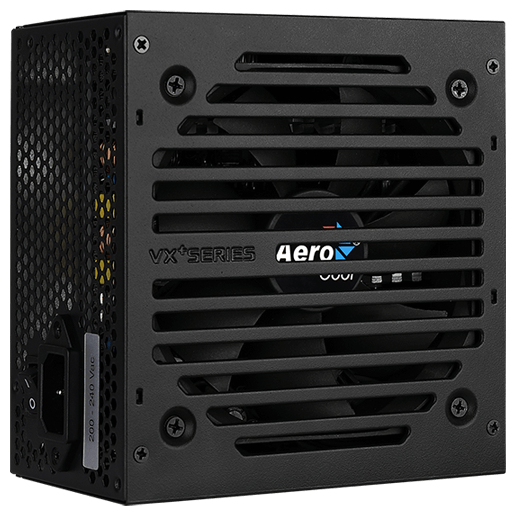 Блок питания aerocool 800w vx-800 plus 24+4+4pin 120mm fan 3xsata rtl