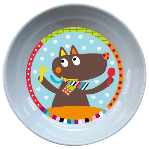 Купить Тарелка Ebulobo Волчонок (E20012), Посуда