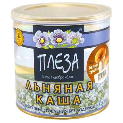 ПЛЕЗА Каша льняная вкус Белые грибы, 400 гКаши<br>