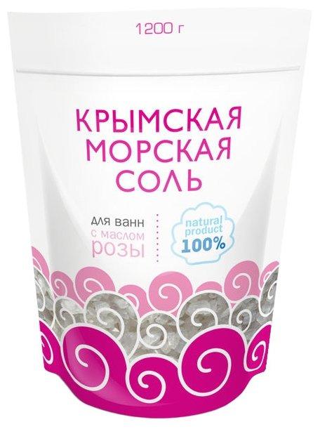 Greenfield Крымская морская соль Роза 1200 г