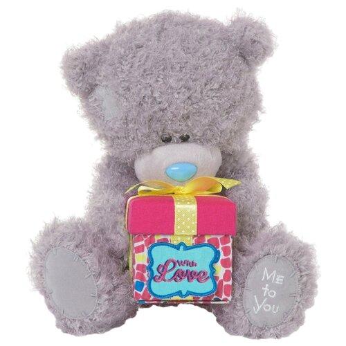 Купить Мягкая игрушка Me to you Мишка Тедди с подарком 25 см, Мягкие игрушки