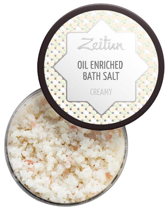 Zeitun Соль для ванн Сливочная с маслом
