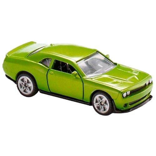 Легковой автомобиль Siku Dodge Challenger SRT Hellcat (1408) 1:64 7.6 см зеленый