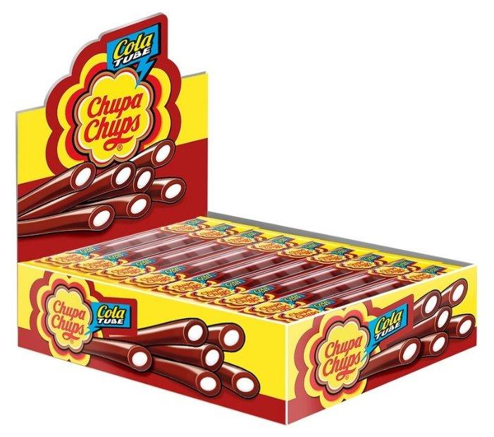 Мармелад Chupa Chups Cola Tube вкус кола (50 шт. по 10 г)