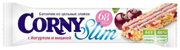 Злаковый батончик Corny Slim без сахара с йогуртом и вишней, 20 г