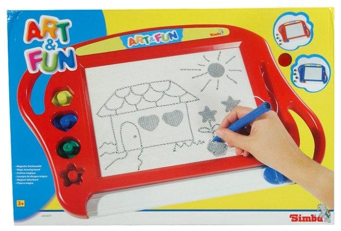 Доска для рисования детская Simba магнитная (6330277)