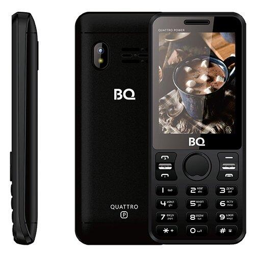 Телефон BQ 2812 Quattro Power черныйМобильные телефоны<br>