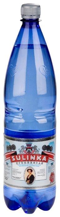 Вода минеральная Sulinka кремниевая газированная, ПЭТ, 1,25 л