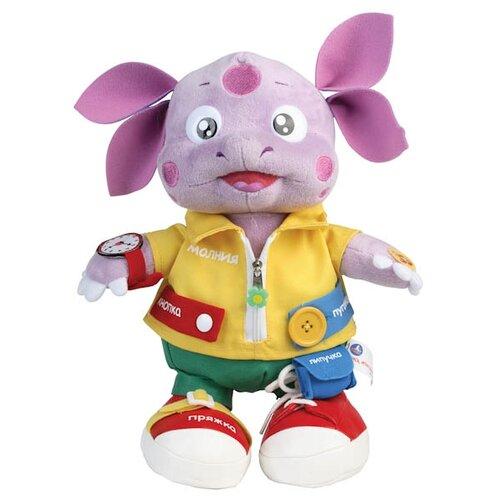Купить Интерактивная развивающая игрушка Мульти-Пульти Лунтик учит одеваться сиреневый, Развивающие игрушки