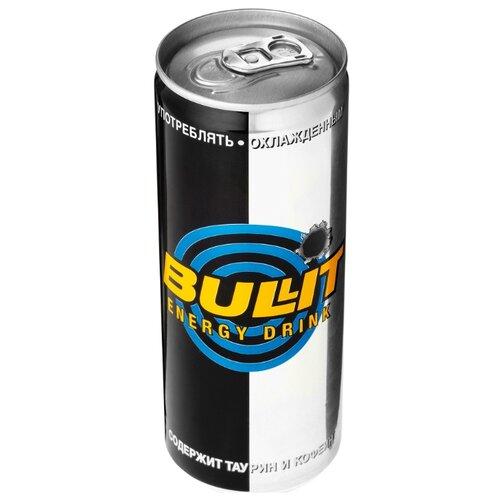 Энергетический напиток Bullit, 0.25 лЭнергетические напитки<br>