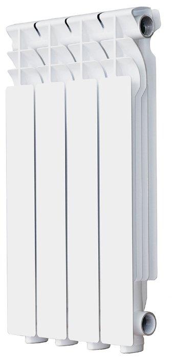 Радиатор секционный алюминий Halsen Al 500/80 x4