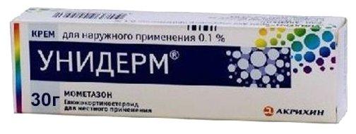 Унидерм крем д/нар. прим. 0,1% туба 30г