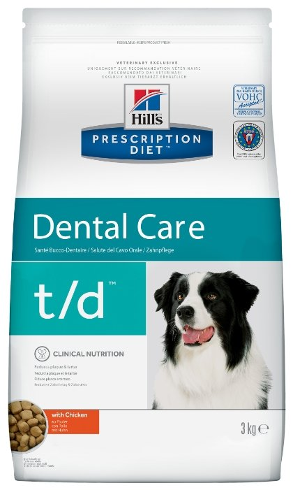 Корм для собак Hill's Prescription Diet T/D Canine Dental Health dry