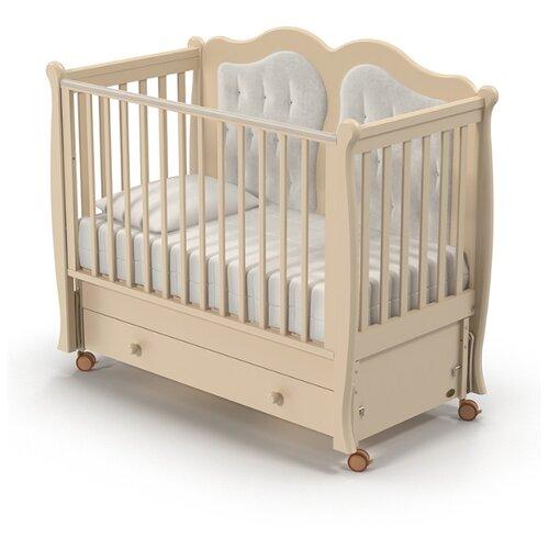 Кроватка Nuovita Affetto (качалка), продольный маятник слоновая кость кроватка nuovita affetto bianco
