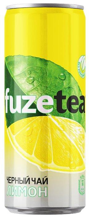 Чай fuzetea черный Лимон, банка