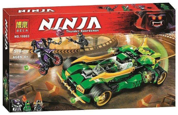 Конструктор BELA (Lari) Ninja 10803 Катана V11