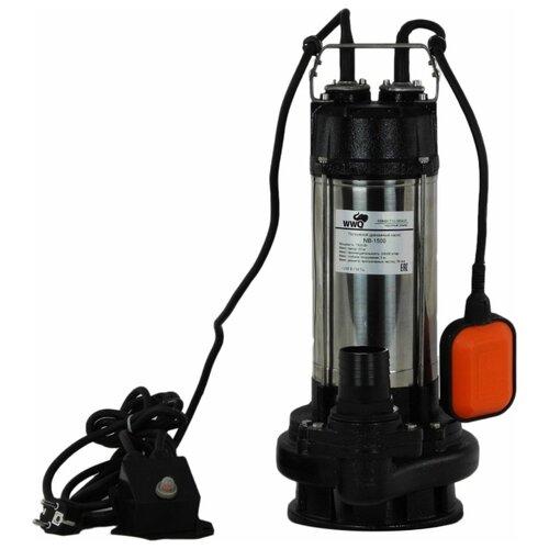 Фекальный насос WWQ NB-1500 (1500 Вт) насос фекальный wwq nf 400 0 4 квт 133 л мин