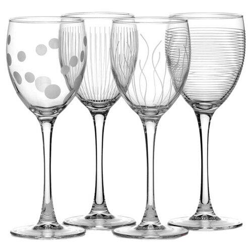 Luminarc Набор бокалов для вина Lounge Club 4 шт 250 мл прозрачный стакан luminarc набор drip rouge red 4 шт v 350 мл высокие 754717