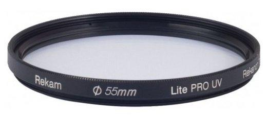 Светофильтр ультрафиолетовый Rekam Lite Pro UV 55 мм