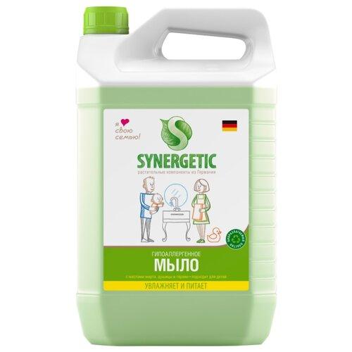 Мыло жидкое Synergetic биоразлагаемое Луговые травы 5000 мл канистраМыло<br>