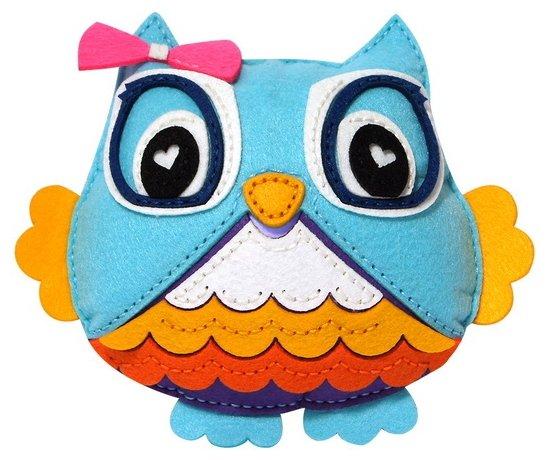 Feltrica Набор для изготовления мягкая игрушка Сова (4627104426930)