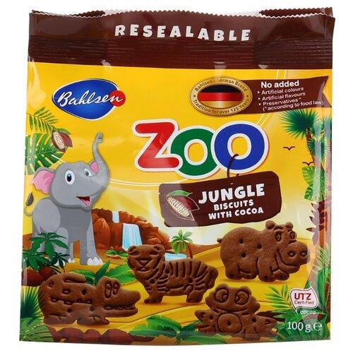 Печенье Leibniz детское Zoo Jungle animals Джунгли, 100 г