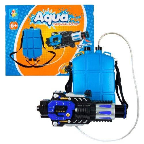 Водяной автомат 1 TOY Aqua-Терминатор (Т12465)Игрушечное оружие и бластеры<br>
