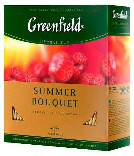 Чай красный Greenfield Summer Bouquet в пакетиках