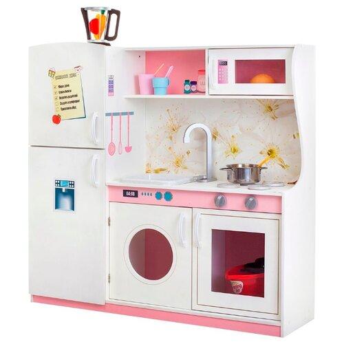 Купить Кухня PAREMO PK218/PK218-01/PK218-02/PK218-03/PK218-04/PK218-05/PK218-06/PK218-07 бело-розовый, Детские кухни и бытовая техника